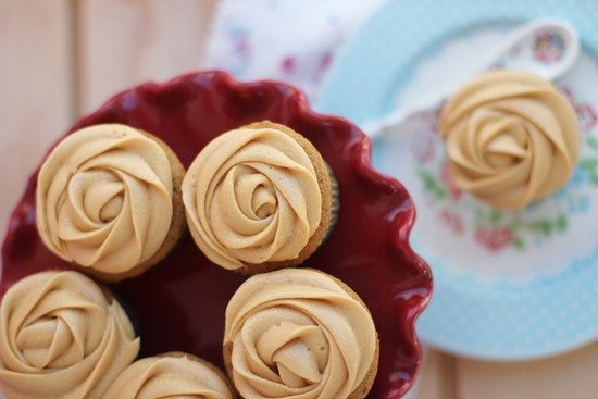 Cupcakes Caramel Macchiato