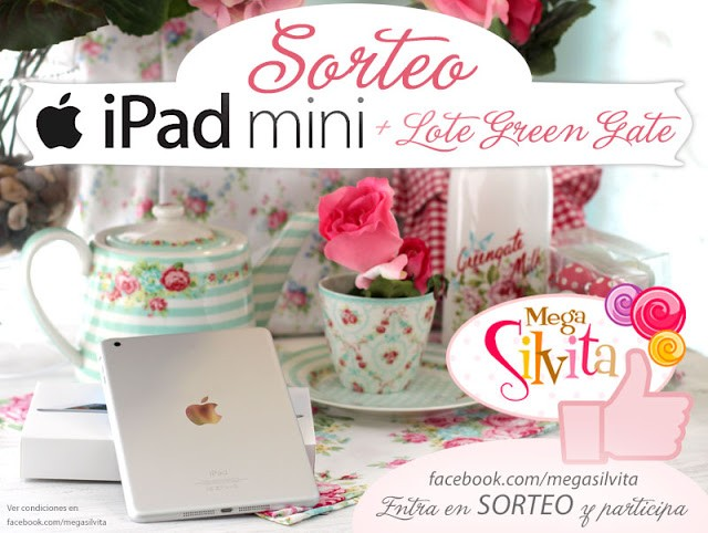 Megasorteo: Ipad Mini + Lote Green Gate