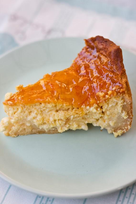 Tarta De Queso A La Naranja