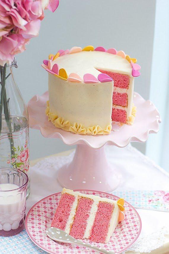 Tarta Pink Velvet Cake
