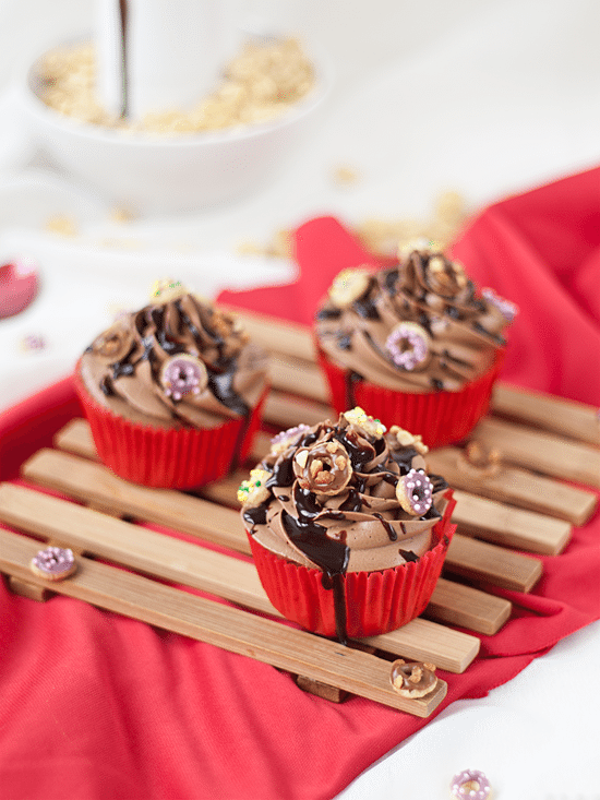 Cupcakes Con Donut Sprinkles