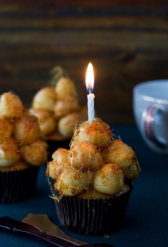 Cupcakes Croquembouche
