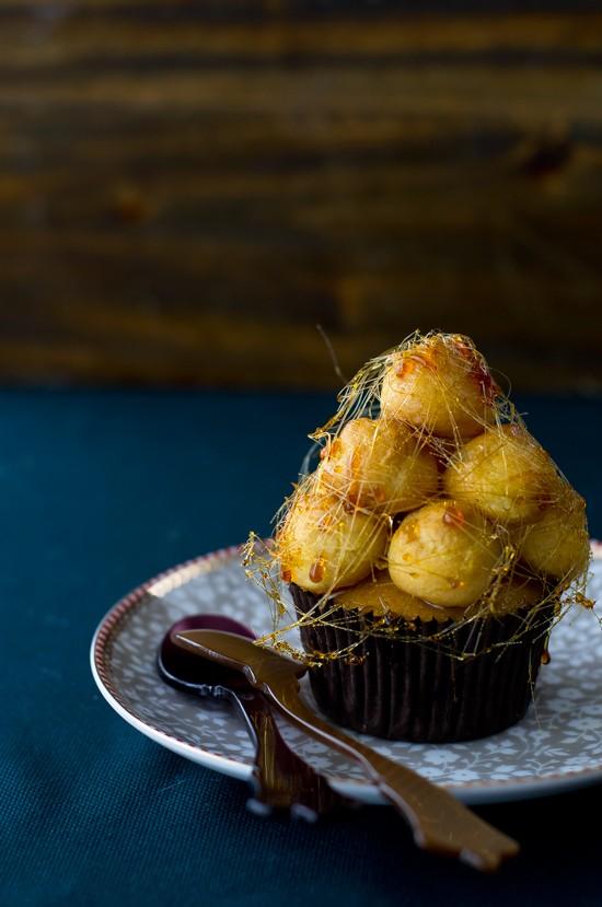 Cupcakes croquembouche1