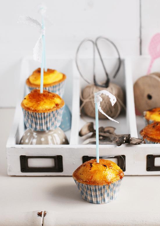 Cupcakes De Crème Brûlée