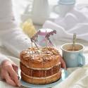 Cinnamon Rolls Layer Cake