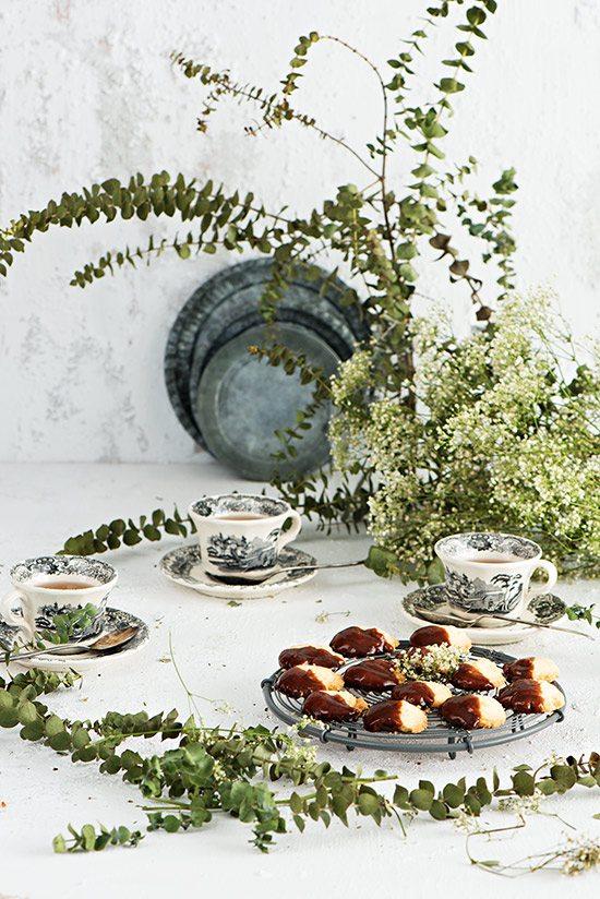 Pastas de té caseras