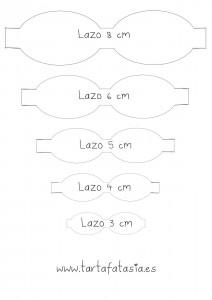 plantilla lazo 8  a 3 cm