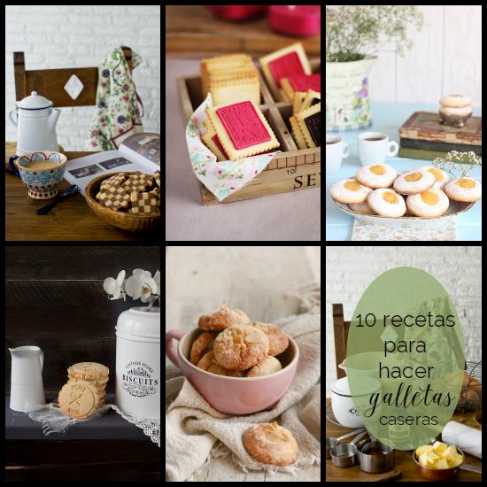 10 recetas para hacer galletas caseras