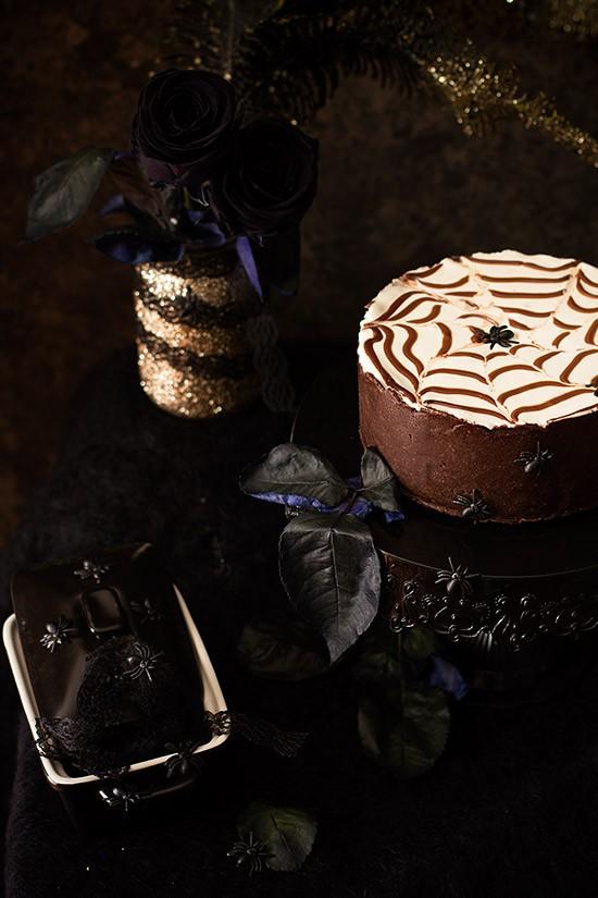 Tarta-de-queso-para-Halloween