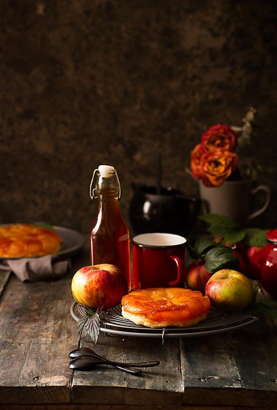 Cómo hacer tarta Tatin de manzana. Receta