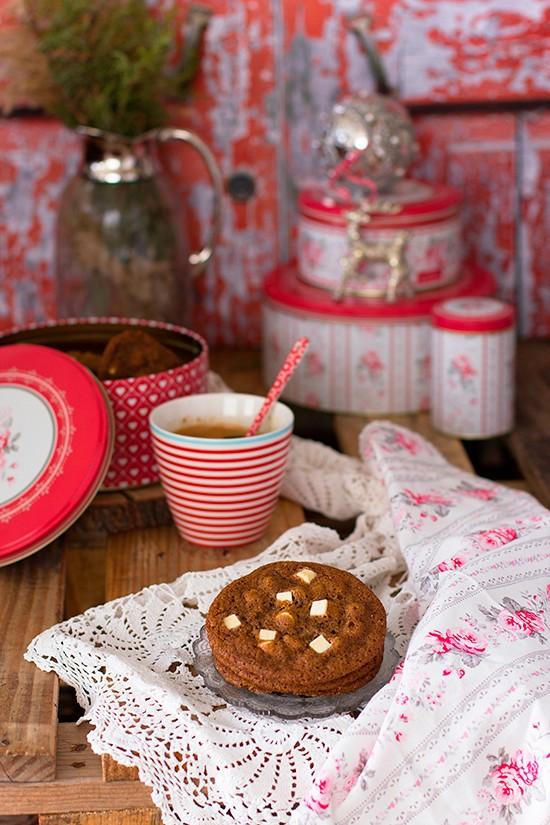 Cookies De Chocolate Blanco Y Especias 3