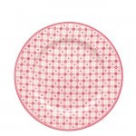 Plato De Cerámica Mimi Pink Green Gate