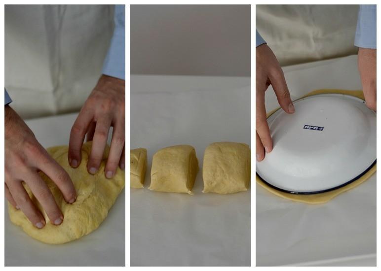 pan de nutella paso a paso 1