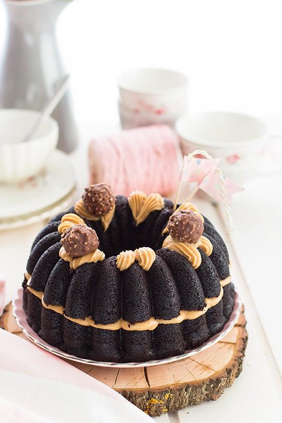 Tarta Ferrero Rocher 3