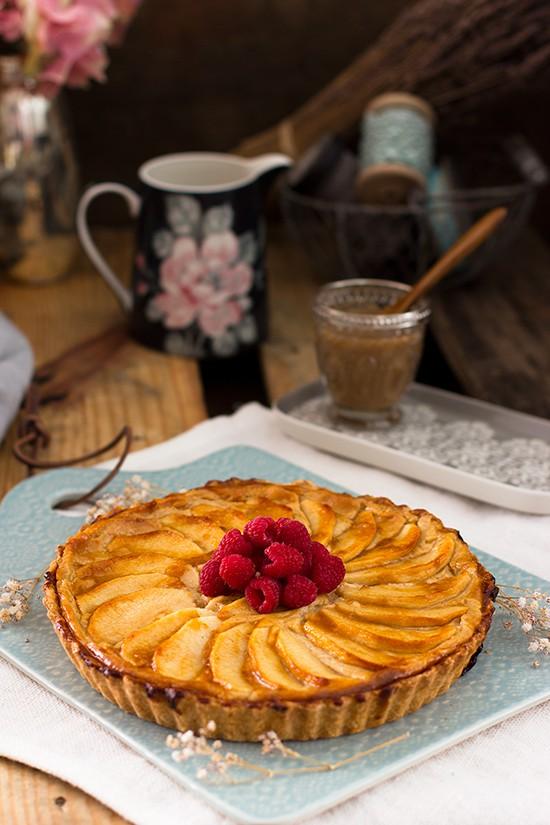 Tarta De Manzana Y Crema Pastelera 2