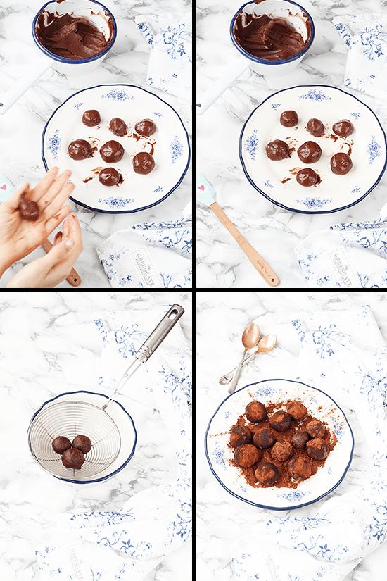 Buñuelos-chocolate