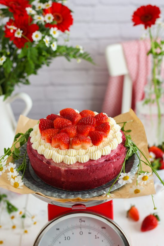 Tarta Imposible Red Velvet 2