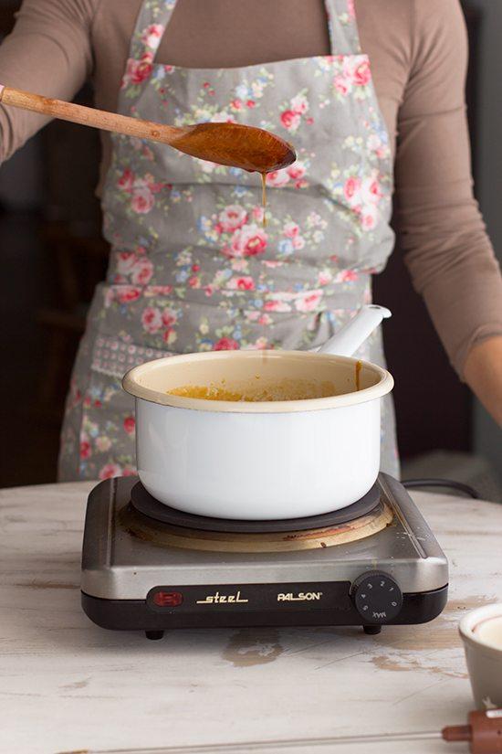 Como hacer toffee