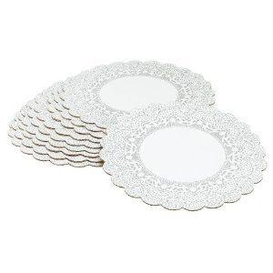 Pack de 10 platos redondos de 25 cm Wilton