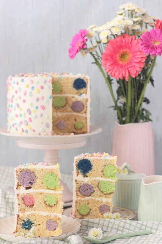 Tarta de cake pops