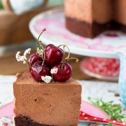Tarta De Queso De Chocolate De Linda Lomelino