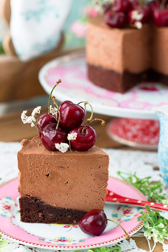 Tarta De Queso De Chocolate De Linda Lomelino 5