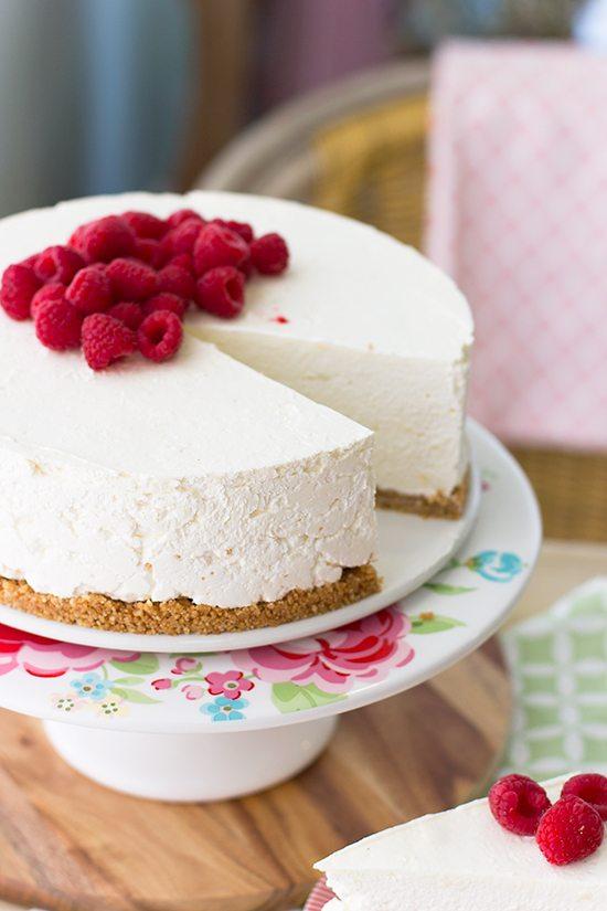 Tarta mousse de crema pastelera