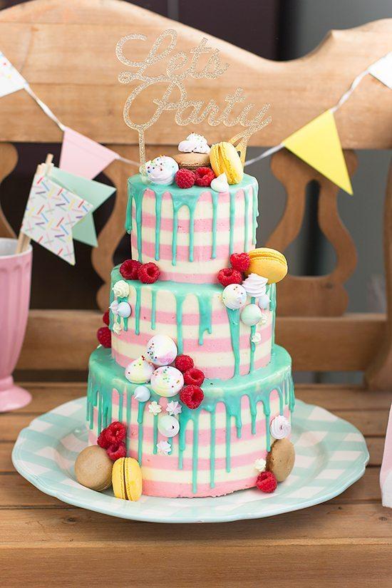 Tarta Drip Cake Cumpleanos Eva 1