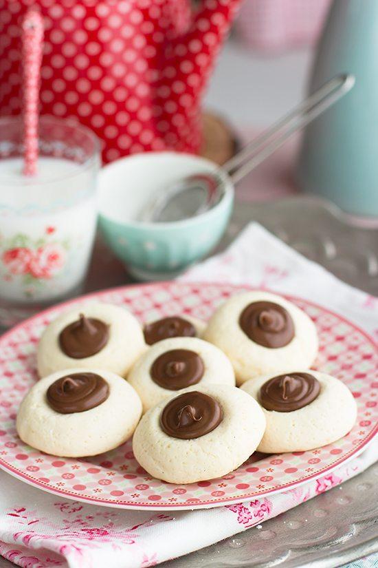 Galletas sin glutén de maicena y leche condensada