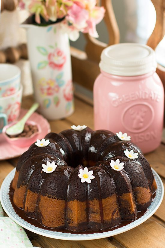 Bundt Cake De Chocolate Y Queso 2