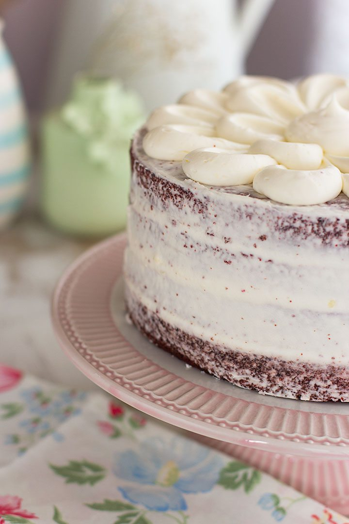 Bianco tarta aproximadamente 11 cm