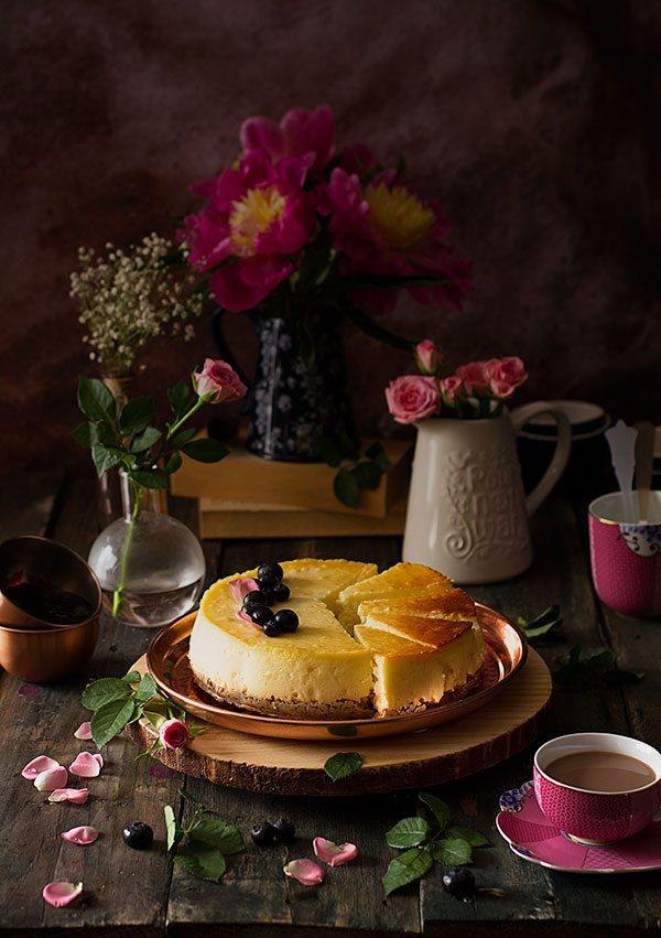 tarta de queso perfecta