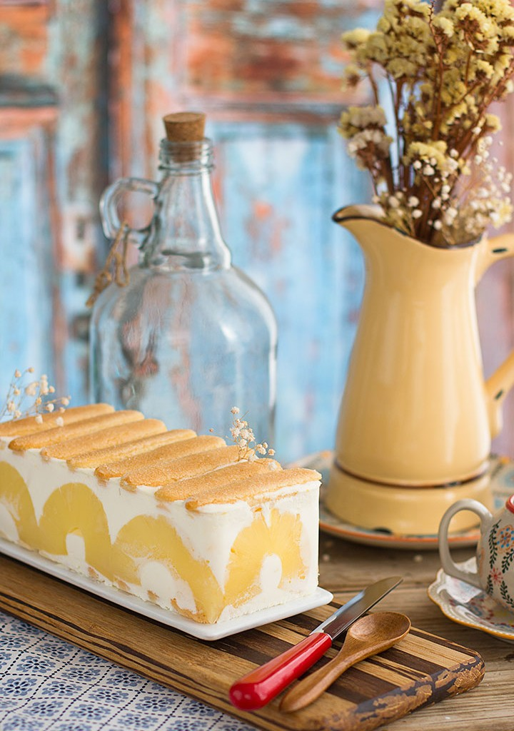 Tarta De Yogurt Y Piña SIN HORNO