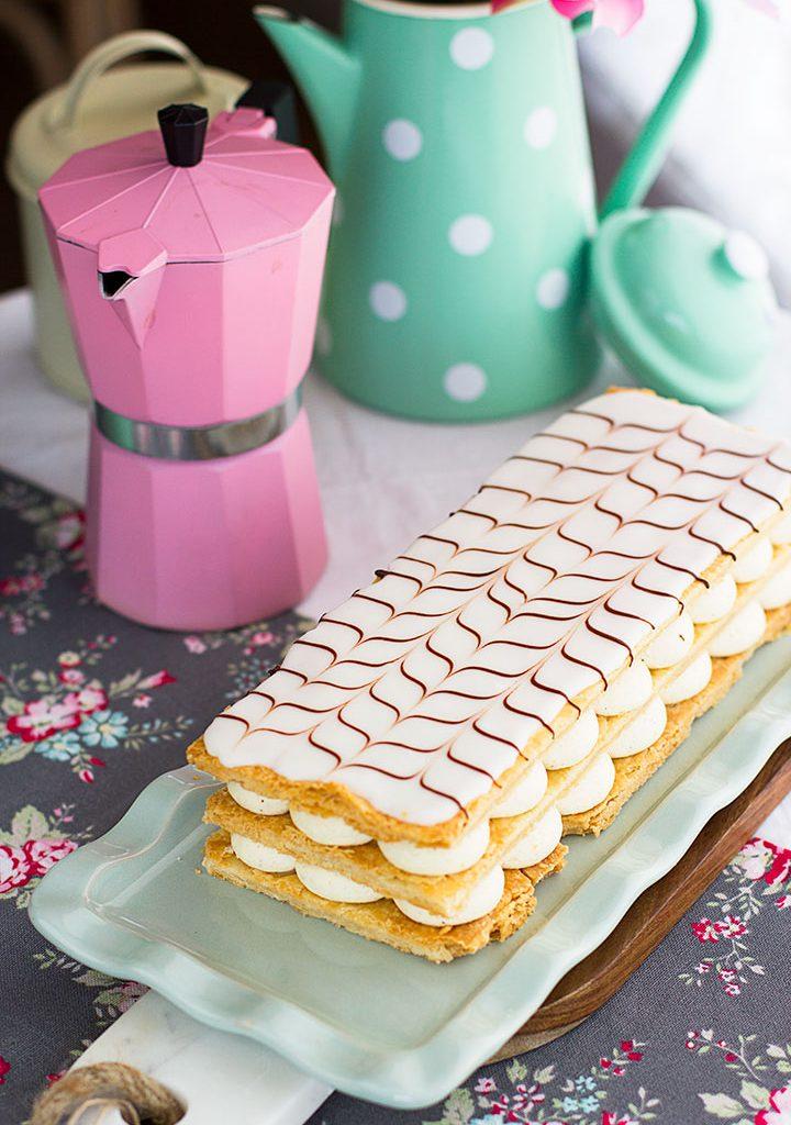 La Receta De Milhojas De Crema Más Rica Y Fácil