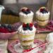 Vasitos De Cheesecake Y Lemon Curd. Receta Fácil Con Microondas.