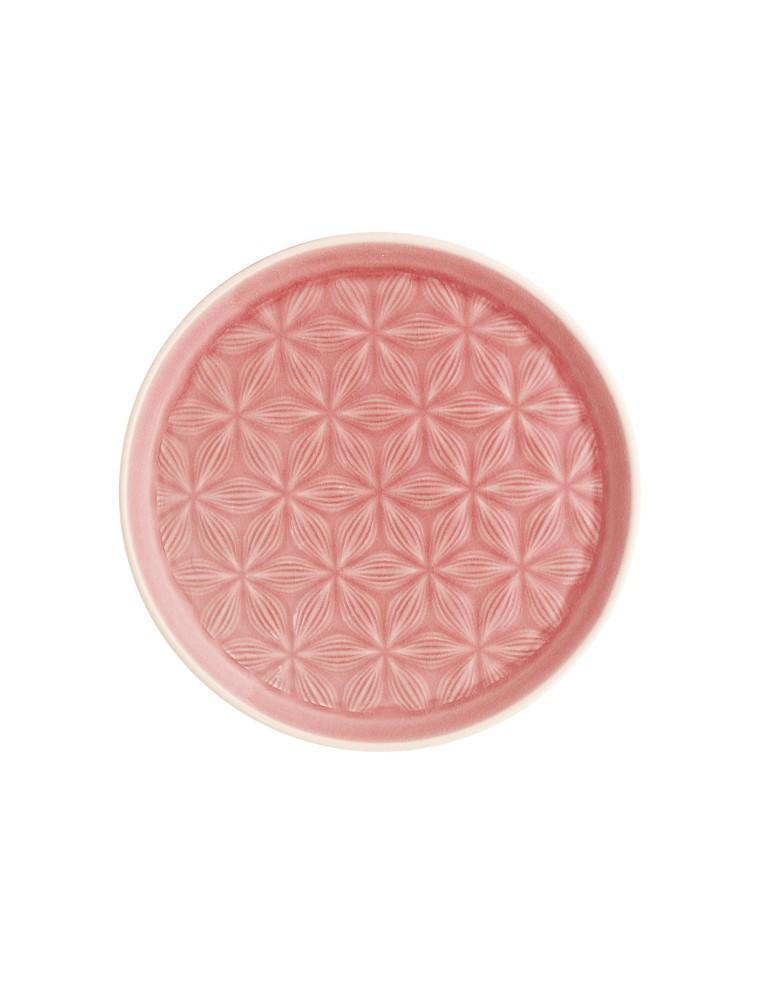 Plato De Ceramica Kallia Pink Green Gate
