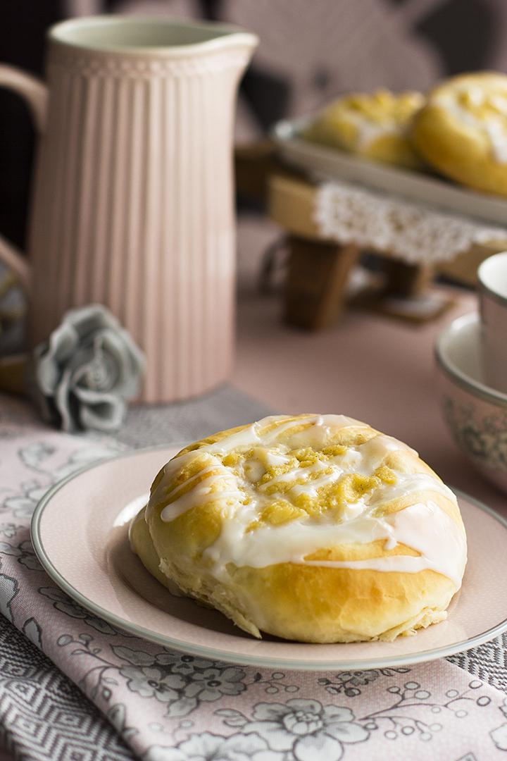 Bollos Noruegos de Vanilla y Crema