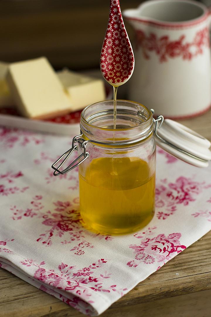 Como hacer Ghee o mantequilla clarificada