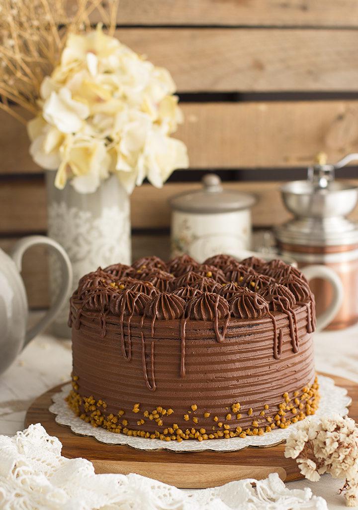 Tarta De Chocolate Y Cheesecake De Chocolate – Doble Bomba De Chocolate