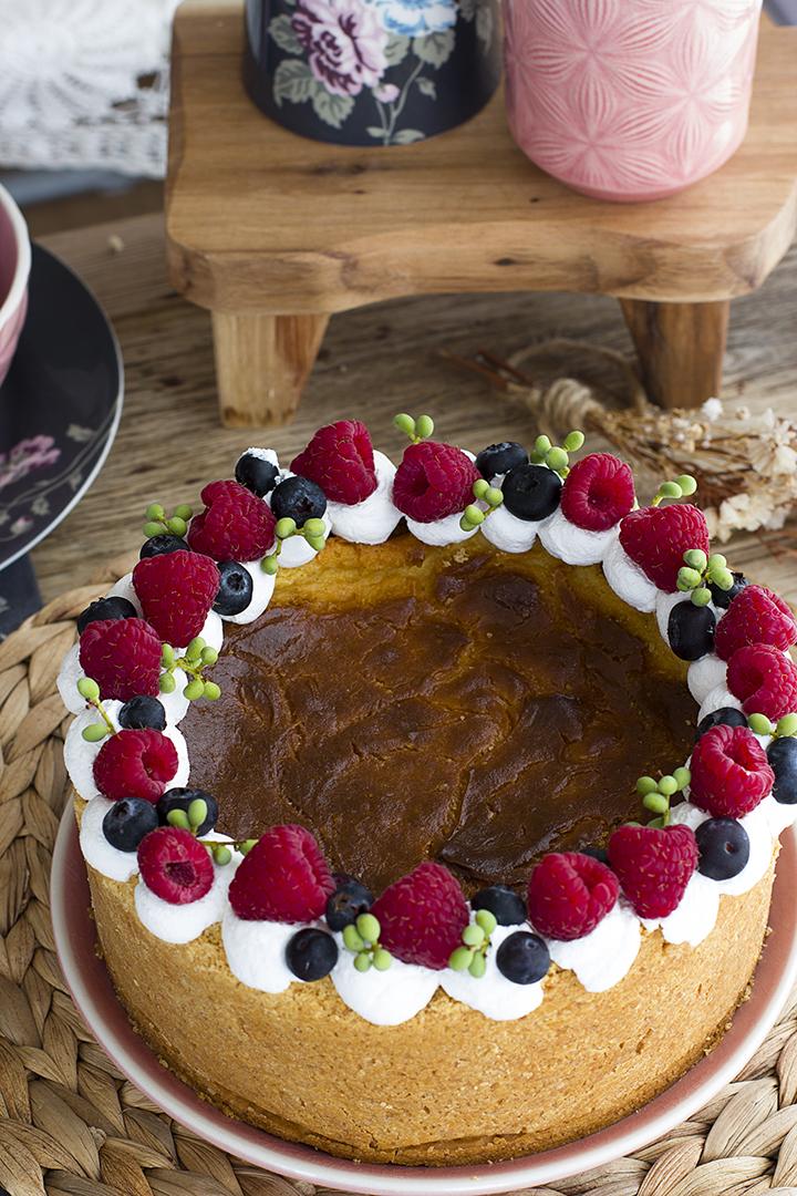 Tarta Flan Parisién Tarta de Crema Pastelera