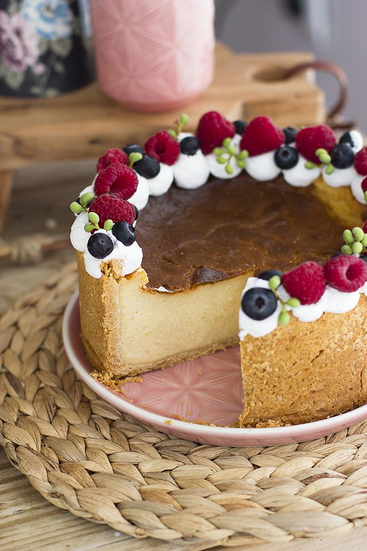 Tarta Flan Parisién – Tarta De Crema Pastelera