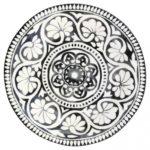 Plato De Ceramica Sasha Black Green Gate