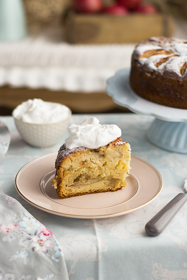 Como hacer el Pastel de Manzana y Almendras