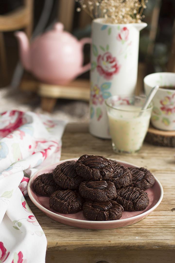 Cookies 3 Chocolates receta saludable