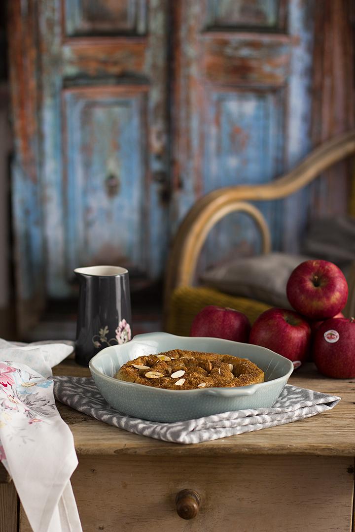 Tarta de manzana y masa filo - Receta fácil 30 minutos