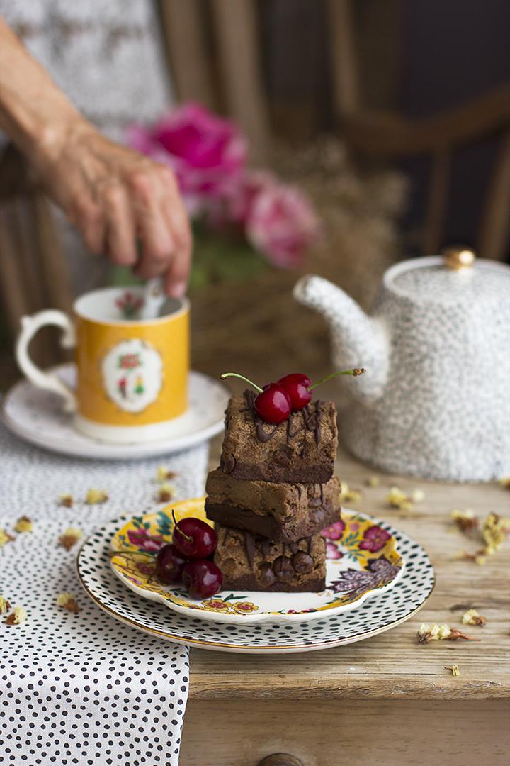 Brookies brownie + cookies saludables recetas healthy
