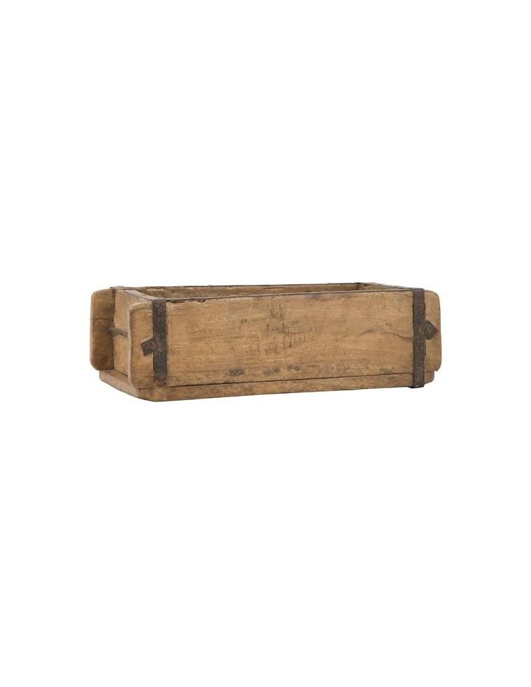 Caja De Madera Antigua Ilbauren