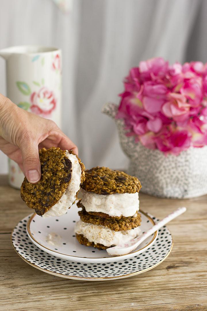 Como preparar Cookies Healthy para Sanchwich Helado