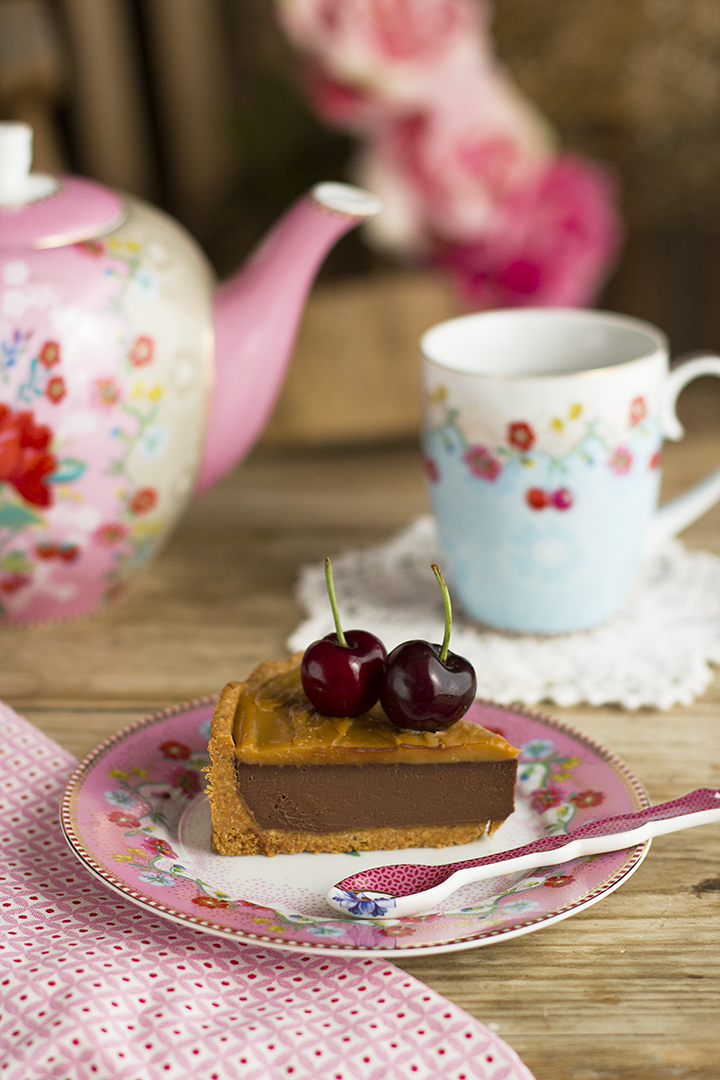 Pastel De Chocolate Y Dulce De Leche Saludable