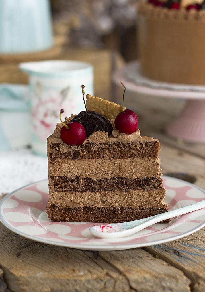 Tarta De Chocolate Y Café